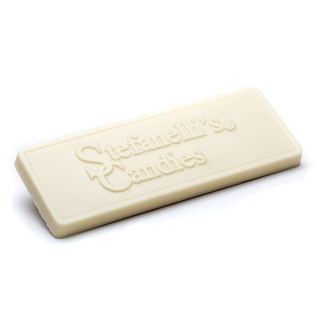 stefanelli's solid white chocolate candy bar