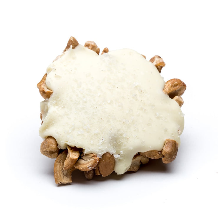 stefanelli's white chocolate cashew frogs