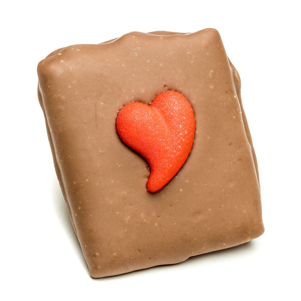 Valentine's Chocolate Covered Graham Cracker
