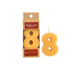 BEESWAX BIRTHDAY NUMBER CANDLES