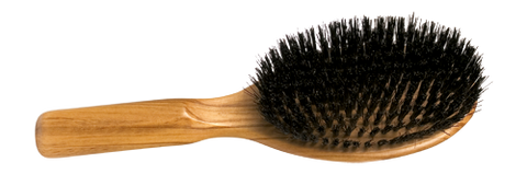 REDECKER OLIVE WOOD BOAR BRISTLE HAIRBRUSH
