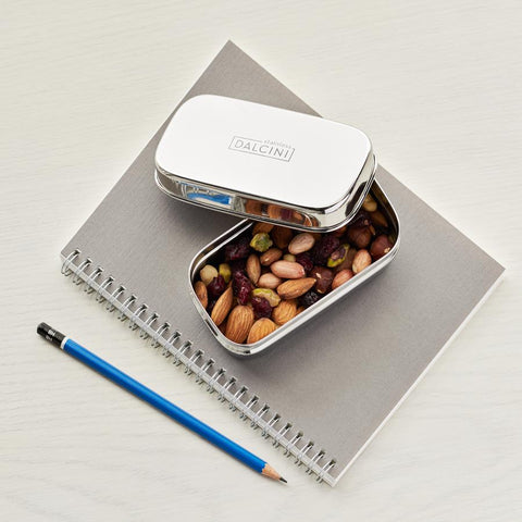 DALCINI STAINLESS STEEL LITTLE SNACKER CONTAINER
