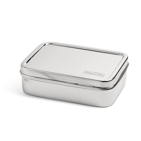 DALCINI STAINLESS STEEL RECTANGLE CONTAINER