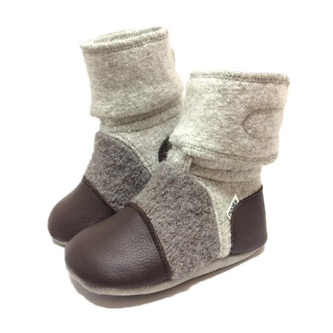 NOOKS DRIFTWOOD WOOL BOOTIES