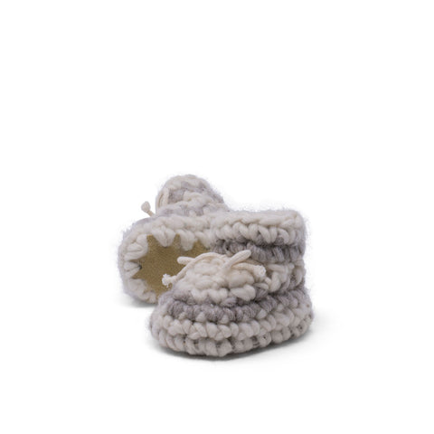 Padraig Cottage WOOL NEWBORN SLIPPER