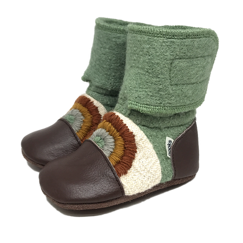 NOOKS GOOD VIBES WOOL BOOTIES