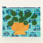 BLUE Q ZIPPER POUCH