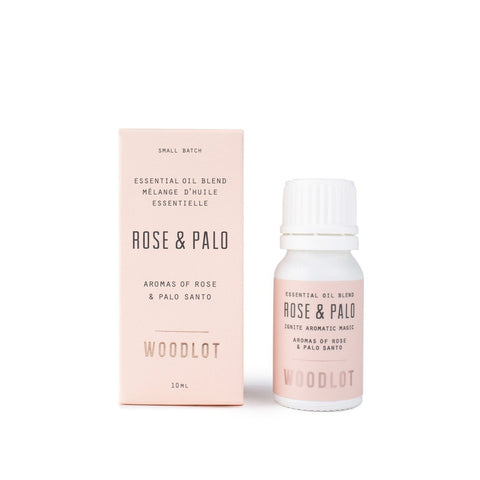 WOODLOT ESSENTIAL OIL ROSE + PALO