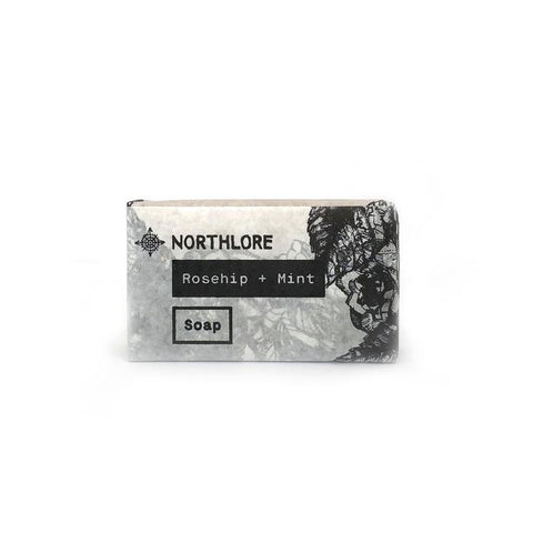 NORTHLORE BAR SOAP ROSEHIP + MINT