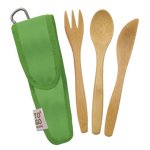 To-Go Ware REUSABLE BAMBOO KIDS UTENSIL SET