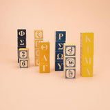UNCLE GOOSE GREEK ALPHABET BLOCKS