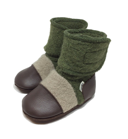 NOOKS COASTAL FOREST WOOL BOOTIES