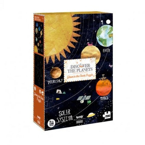 LONDJI DISCOVER THE PLANETS PUZZLE