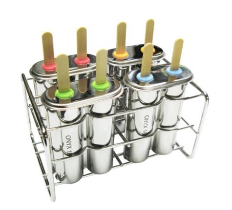 STAINLESS STEEL DOUBLE ICE POP MOLD