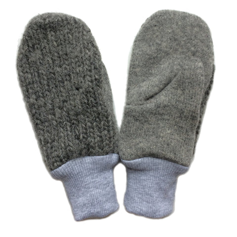 KIDS UPCYCLED WOOL MITTENS
