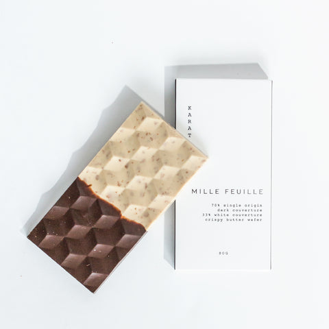 KARAT MILLE FEUILLE CHOCOLATE BAR
