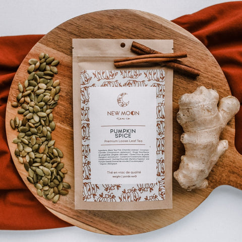 NEW MOON LOOSE LEAF TEA - PUMPKIN SPICE
