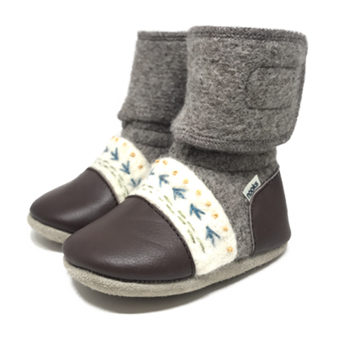 NOOKS CARIBOU WOOL BOOTIES
