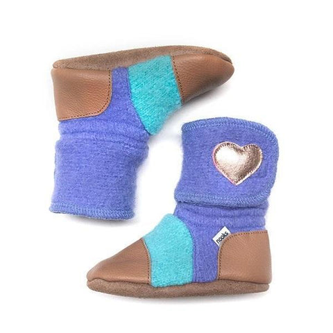 NOOKS MERMAID WOOL BOOTIES