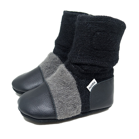 NOOKS ECLIPSE WOOL BOOTIES