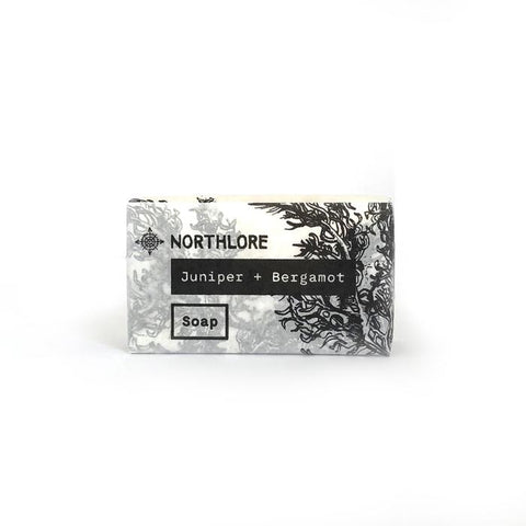 NORTHLORE BAR SOAP JUNIPER + BERGAMOT