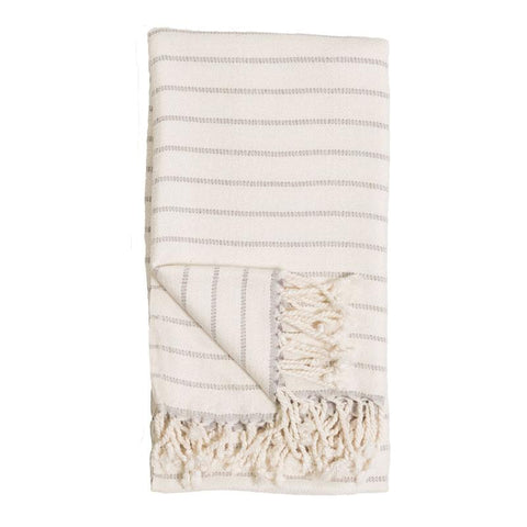 BAMBOO STRIPED BODY TOWEL