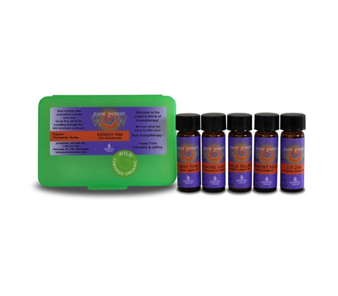 PURE ESSENTIAL OIL REMEDY PAK
