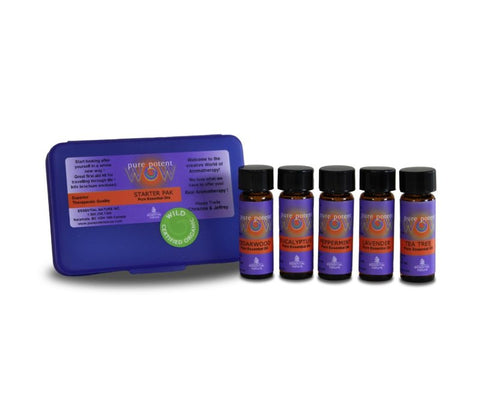 pure potent WOW PURE ESSENTIAL OIL STARTER PAK