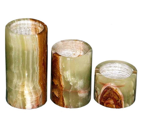 RAINBOX ONYX CANDLE HOLDER