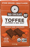TAZA ORGANIC CHOCOLATE BARS