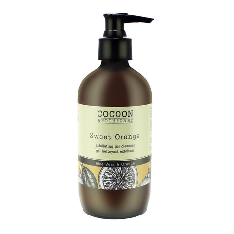 COCOON SWEET ORANGE EXFOLIATING GEL CLEANSER