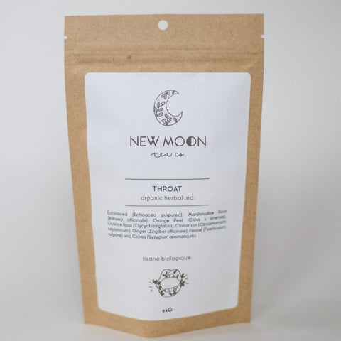 NEW MOON LOOSE LEAF TEA - THROAT