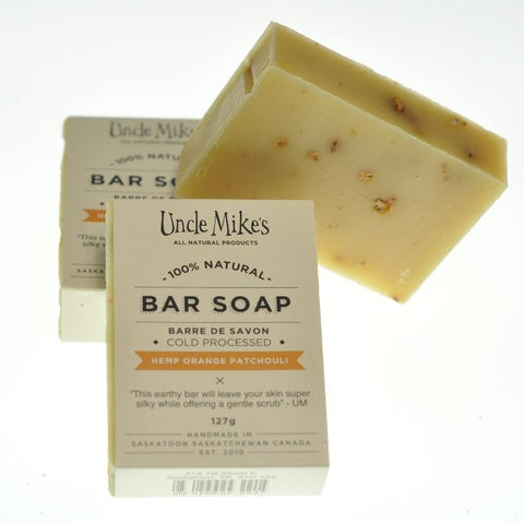 UNCLE MIKE'S HEMP ORANGE SOAP