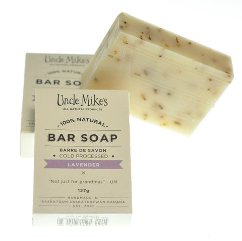 UNCLE MIKE'S LAVENDER SOAP