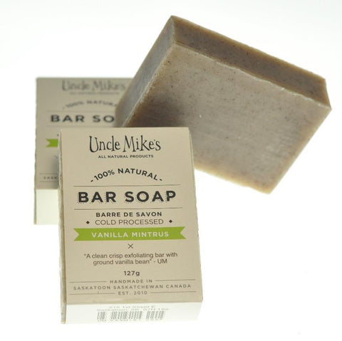 UNCLE MIKE'S VANILLA MINTRUS SOAP