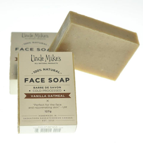 UNCLE MIKE'S FACE SOAP VANILLA OATMEAL