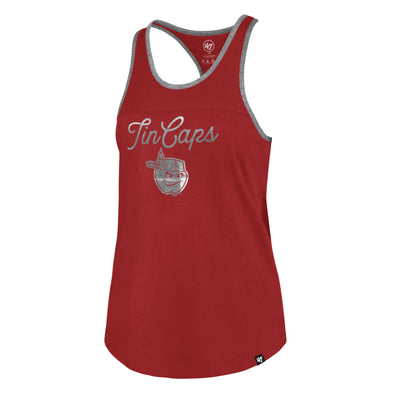 Fort Wayne TinCaps Red Clutch Womens Team Up Tank