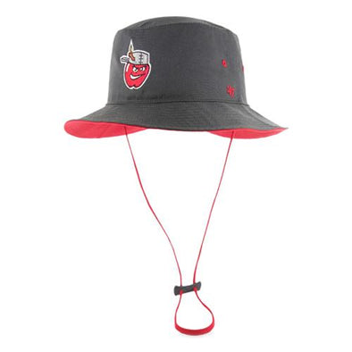 Fort Wayne TinCaps Charcoal Kirby Bucket