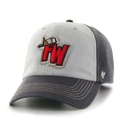 Fort Wayne TinCaps Charcoal McGraw Clean Up Cap