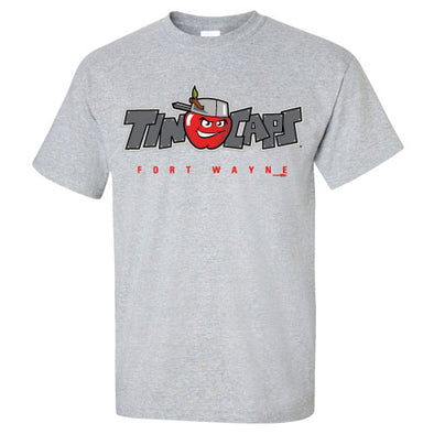 Grey Official Logo Shirt