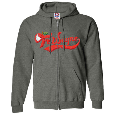 Fort Wayne TinCaps Charcoal Road Wordmark Zip-up Hoodie