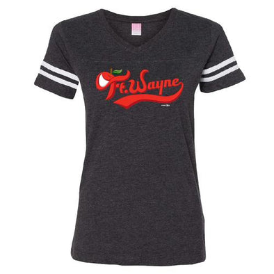 Fort Wayne TinCaps Vintage Smoke Wordmark Women's T-shirt