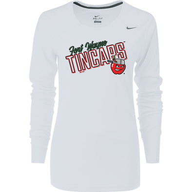 Fort Wayne TinCaps Nike Womens Legend L/S Poly Top