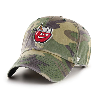Fort Wayne TinCaps Camo Clean-Up