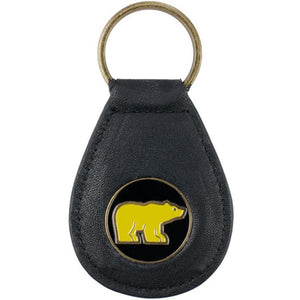 Nicklaus Golden Bear Leather Key Ring