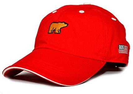 Jack Nicklaus Golden Bear Hat - Patriot Series (Red)