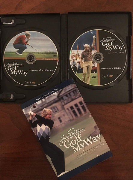 Jack Nicklaus Golf My Way - DVD