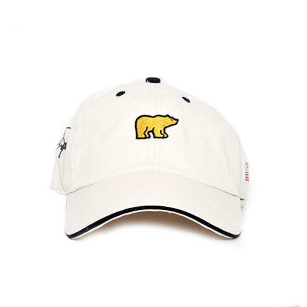Jack Nicklaus Golden Bear Hat - Patriot Series (White)