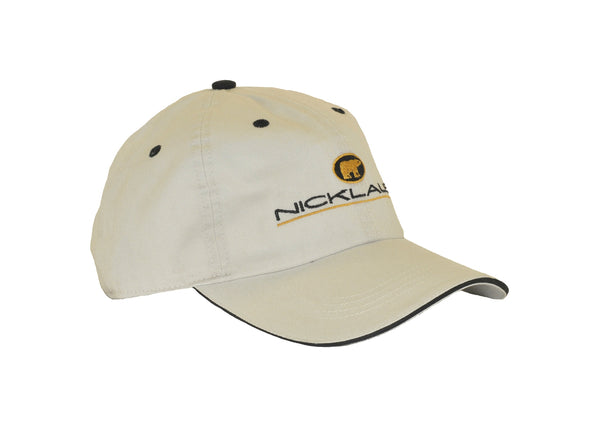 Jack Nicklaus Golden Bear 18 Majors Hat (White)