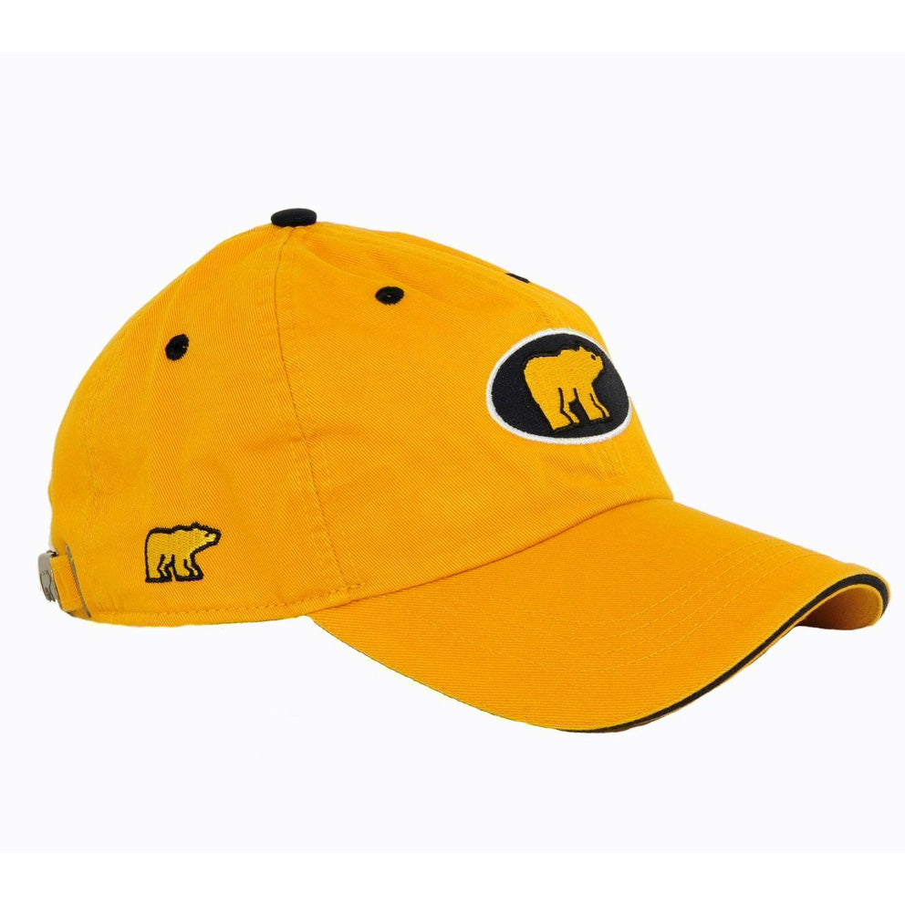 Jack Nicklaus Golden Bear Golf Hat (Yellow)